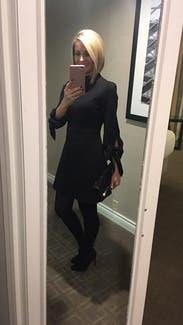 Black Bond Tie Sleeve Dress By Tibi For 70 Rent The Runway