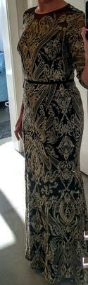 64cf21aa76a6 Moises Embroidered Gown by Marchesa Notte for  200
