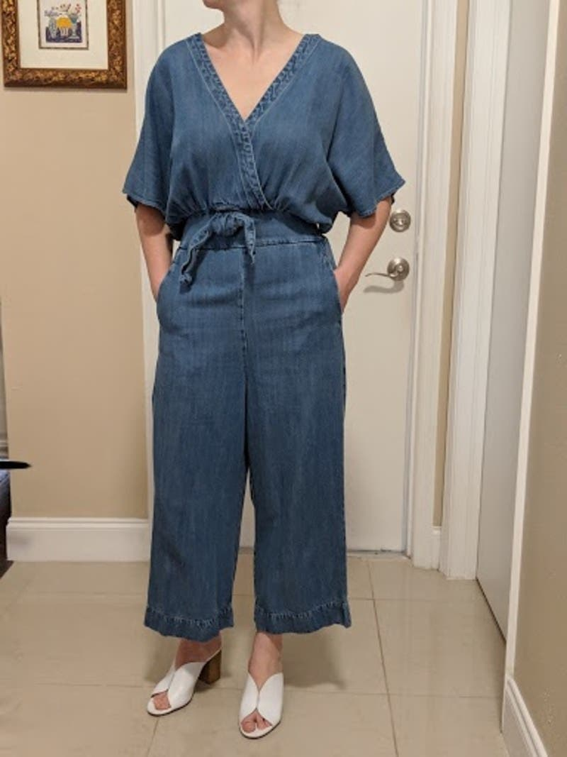 6d35f2a69a Chambray Tie Jumpsuit by Splendid for  30