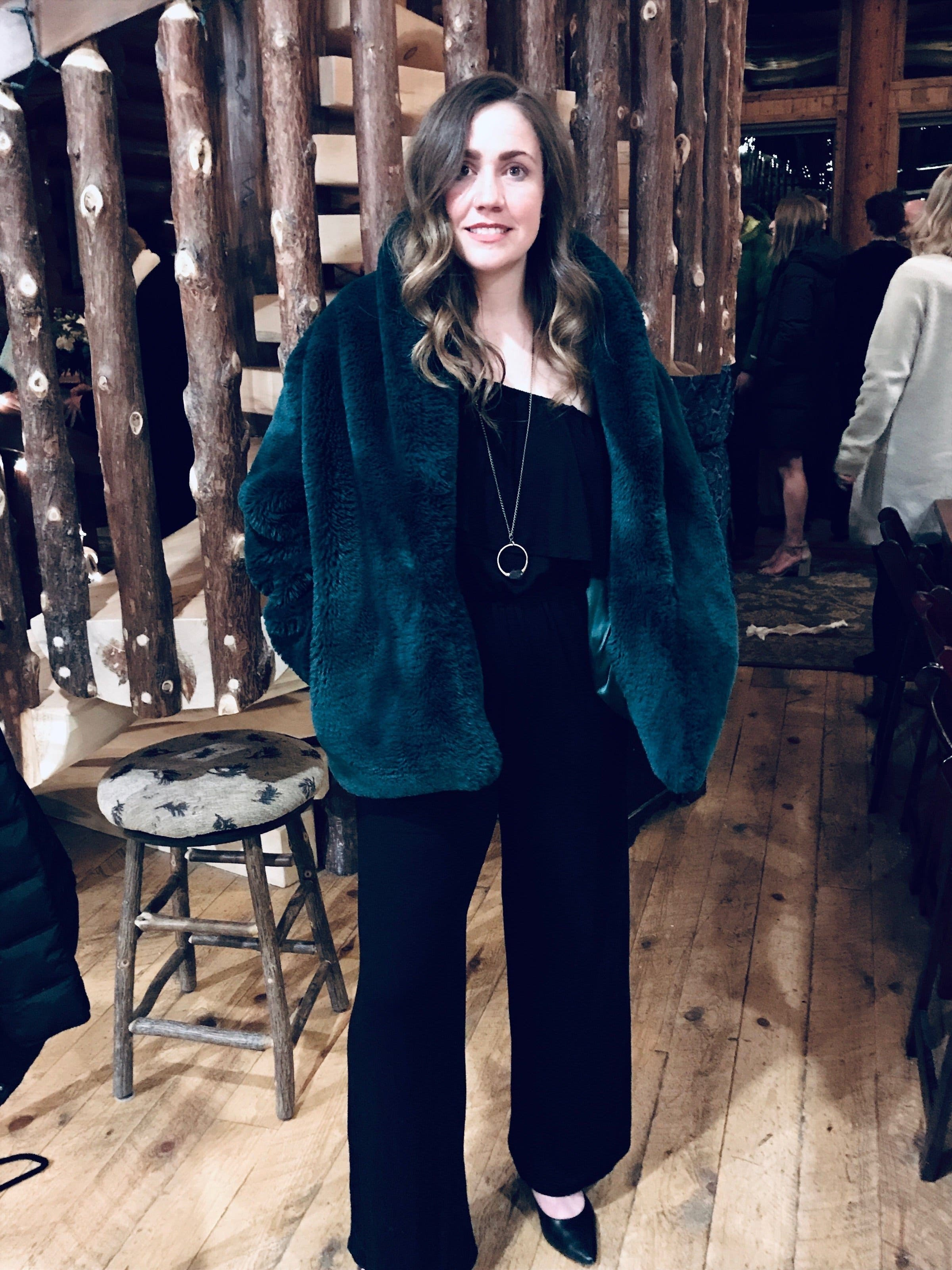 4bfdc607c71 Emerald Dreaming Faux Fur Coat by somedays lovin for $30 | Rent the Runway