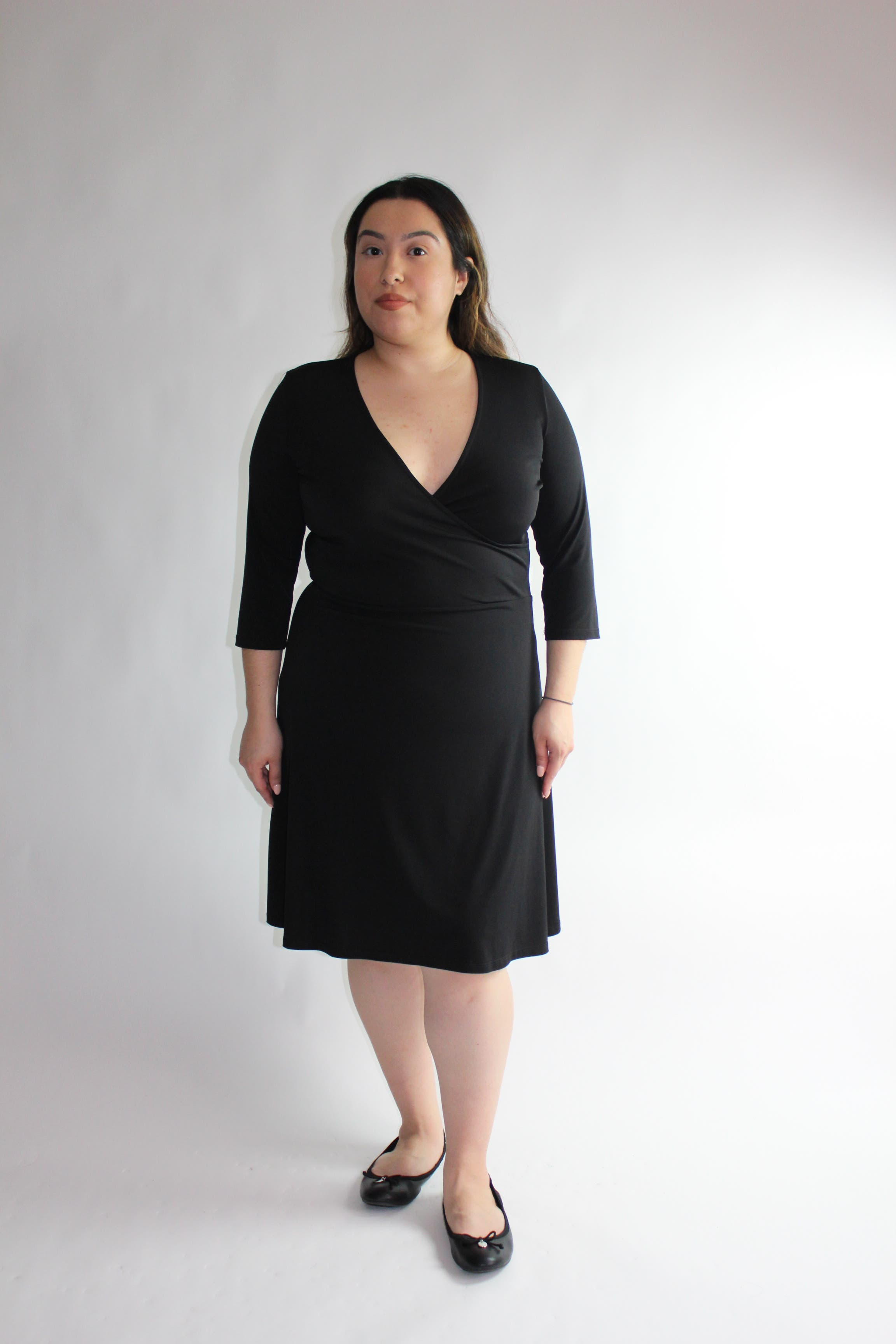 e46a180b2d63 The Perfect Black Wrap Dress by Leota for  30